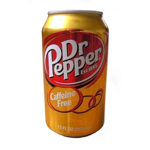 Dr Pepper caffeine free Доктор Пеппер без кофеина 0,330 л