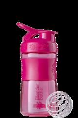 Шейкер-фляга Blender Bottle SportMixer 591мл Pink [малиновый]