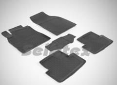 Резиновые коврики для Megane-III, высокий борт