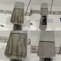 Полировка смесителя пастой К2 Aluchrom 6