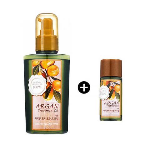 Аргановое масло для волос и тела Welcos Argan Treatment Oil