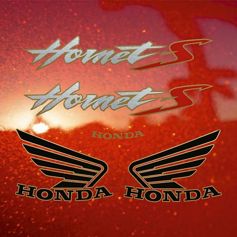 Набор виниловых наклеек на мотоцикл HONDA CB600S HORNET 2002