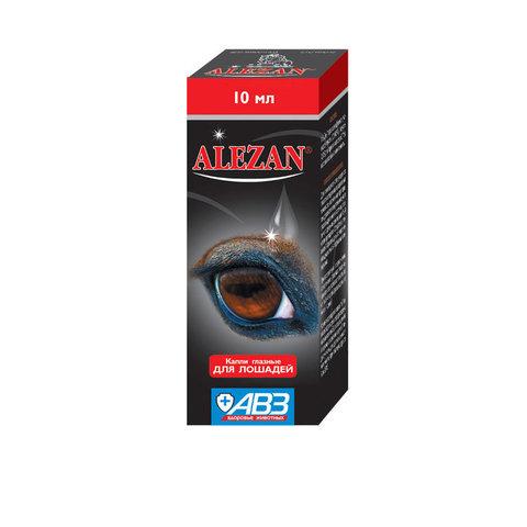 Алезан капли глазные для лошадей 10 мл.
