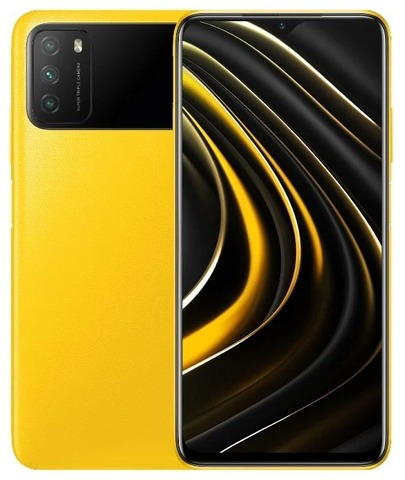 Смартфон Xiaomi Poco M3 4/64GB Yellow (Желтый)