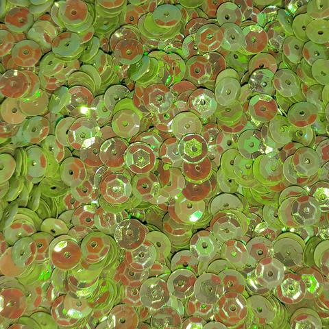 Пайетки круглые 6мм №348 50грамм