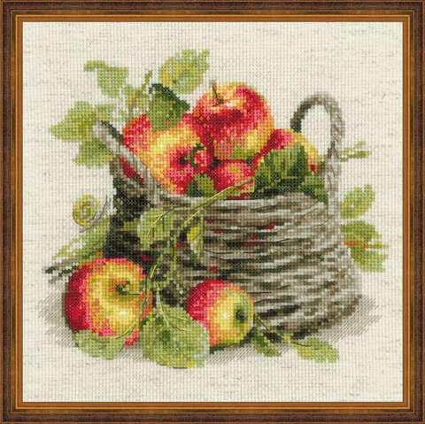 Набор для вышивания крестом «Спелые яблоки» (1450)