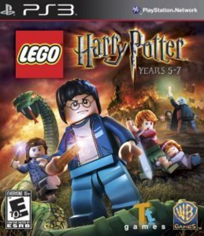 LEGO Harry Potter Years 5-7 (PS3, русские субтитры)
