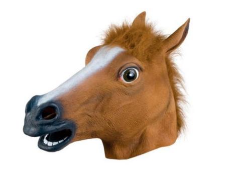 Маска Конь