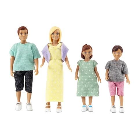 Набор кукл для домика классическая семья