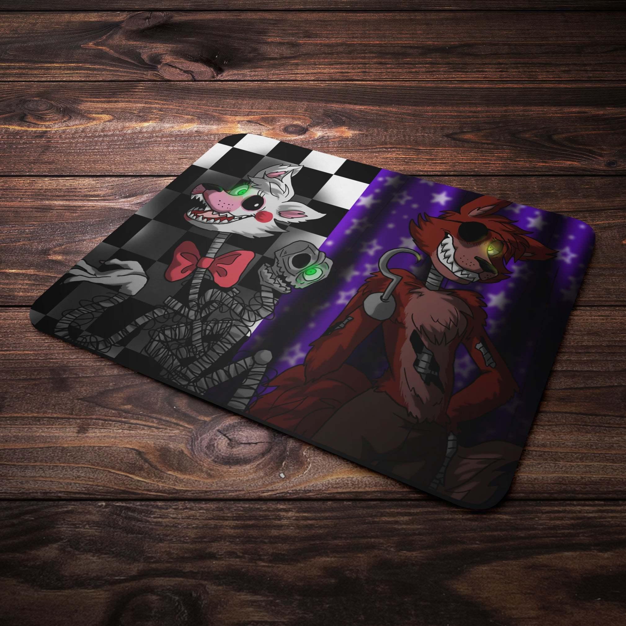 Коврик для мыши с Фокси и Мангл - купить в интернет-магазине kinoshop24.ru