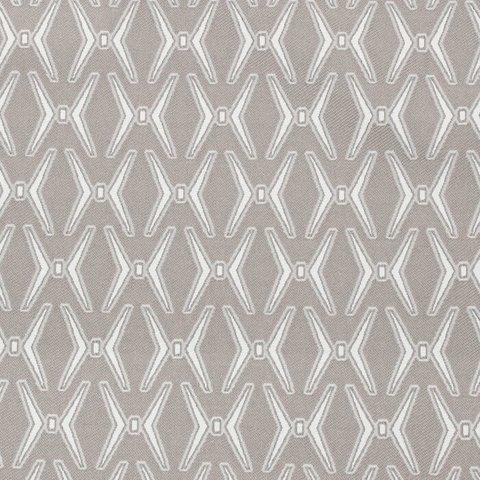 Портьерная ткань жаккард Доминика бежево-серый
