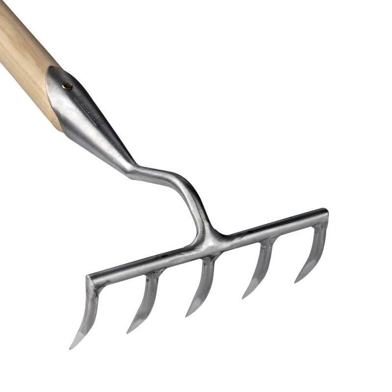 Садовые грабли Sneeboer 5 зубцов  155 см рукоятка