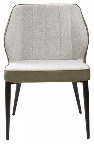 Стул-кресло для гостиной RIVERTON светло-серый меланж FC-01/ RU-04 М-City