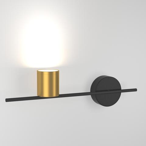 Acru LED черный/золото  Настенный светильник MRL LED 1019