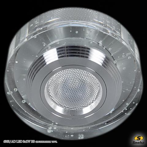 6385/AD LED 3x1W BB светильник точ.