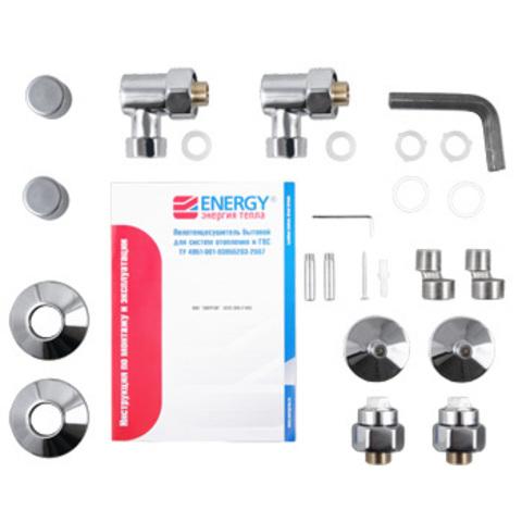 Полотенцесушитель водяной Energy CLASSIC 600x400