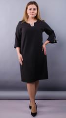 Сьюзен. Ошатна сукня plus size. Чорний.