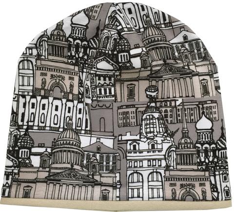 Женская шапочка с принтом Санкт-Петербург