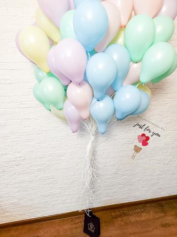 Воздушные шарики макарунс