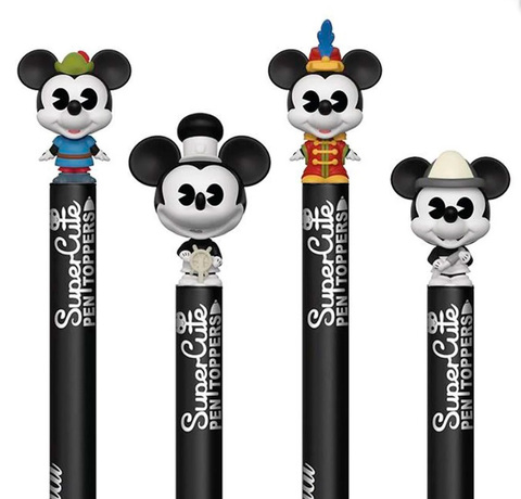 Случайная ручка Funko POP! Pen Toppers: Mickey's 90th