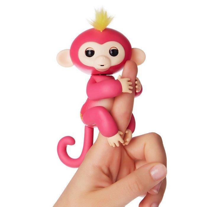Розовый цветовой вариант Fingerlings