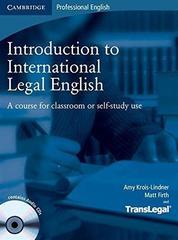 Introduction to International Legal English Stu...