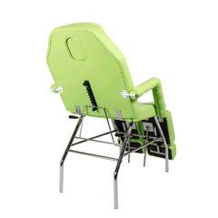 Педикюрное кресло МД-11 Стандарт хромированный каркас