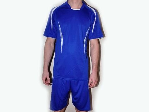 Форма футбольная. Цвет синий. Размер S. :(S Новая):