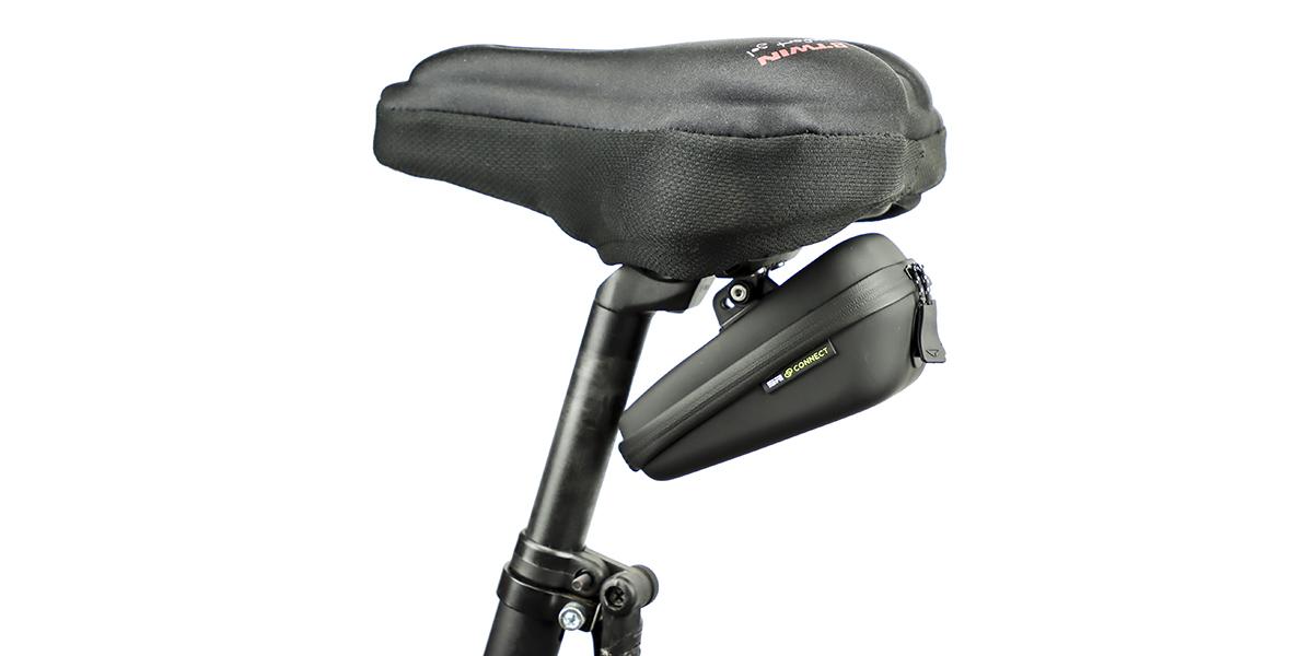 Кейс под седло велосипеда с креплением под фонарь SP Connect SADDLE CASE SET