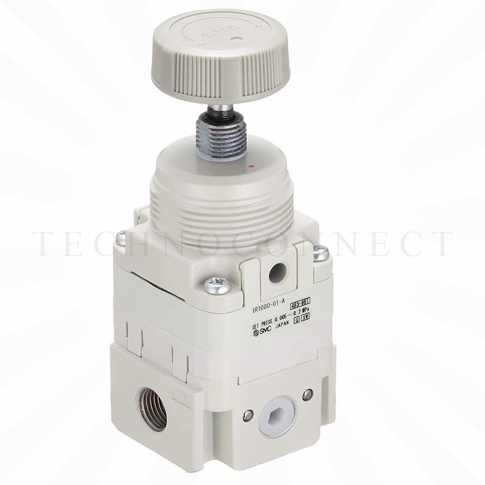 IR2000-F02-A-X1   Прецизионный регулятор, 0.005-0.2 МПа, G1/4