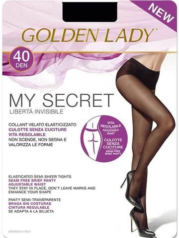 Женские колготки My Secret 40 Golden Lady