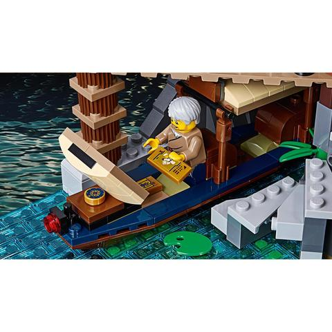 LEGO Ninjago Movie:  Порт Ниндзяго Сити 70657 — Ninjago City Docks — Лего Ниндзяго Муви