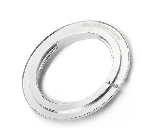 Переходное кольцо, адаптер для объективов Nikon на Canon body