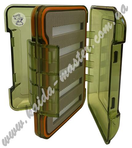 Коробка Kaida двухсторонняя для наживки ZX-107