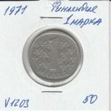 V1203 1971 Финляндия 1 марка