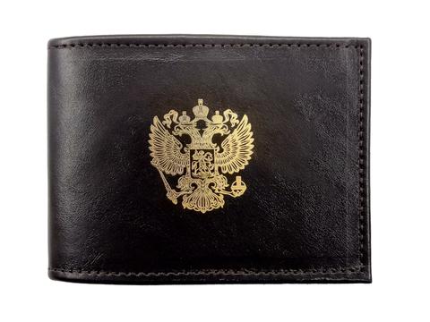 Обложка для удостоверения «Золотая пластинка». Цвет черный