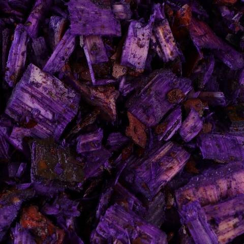 Декоративная щепа Фиолетовая 60л