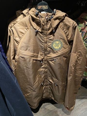 Куртка на молнии Варгградъ мужская коричневая (на флисе)
