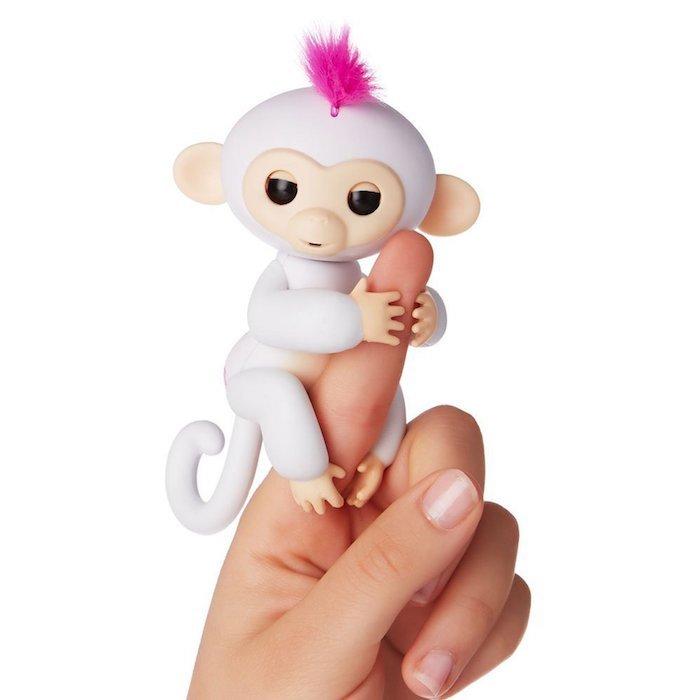 Белый цветовой вариант Fingerlings