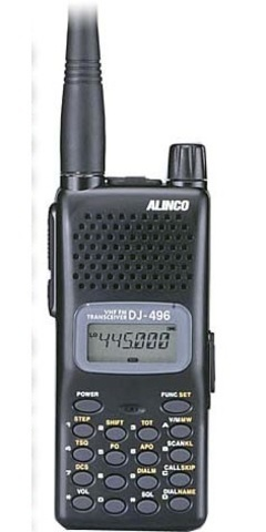 ALINCO DJ-496 (body)