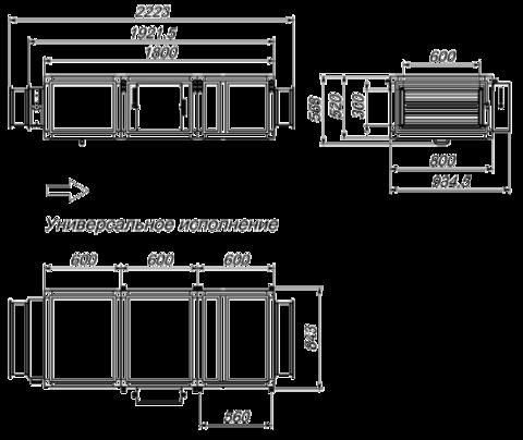 Приточная установка Breezart 2700 Lux 30 - 380/3
