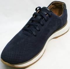 Красивые модные кроссовки мужские Faber 1957134-7 Blue