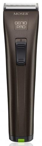 Машинка для стрижки Moser Genio Pro, аккум/сетевая, 4 насадки, коричневая