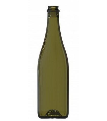 Бутылка для шампанского 0,75 литра без пробки