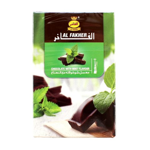 Табак для кальяна Al Fakher Chocolate With Mint Flavour 50 гр