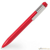 Шариковая ручка Moleskine Classic Click 1 мм красная в блистере (EW61CF910)