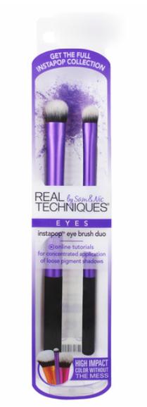 Набор кистей для макияжа глаз Instapop Eye Brush Duo
