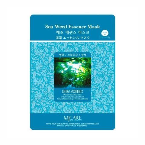Тканевая маска с экстрактом морских водорослей Mijin Cosmetic MJ Care Sea Weed Essence Mask