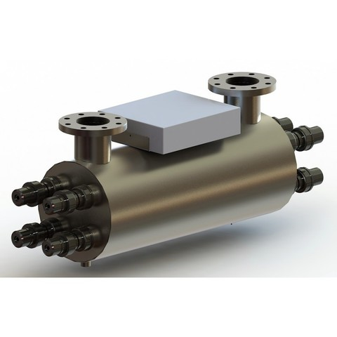 Ультрафиолетовая установка УФУ-  50, 50 м3/ч, AISI-321, 40мДж/см2 XENOZONE