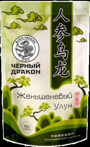 Чай улун Black dragon Женьшеневый 100 г